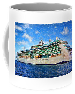 Cruising Thru Life Coffee Mug by Sue Melvin