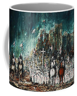 Marching Out Coffee Mug