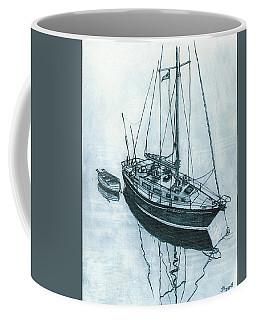 Crusader At Anchor Coffee Mug