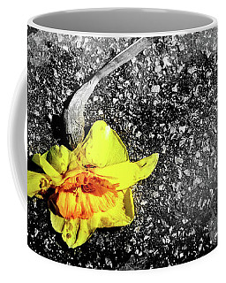 Coffee Mug featuring the photograph Crushed by Shawna Rowe