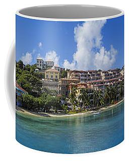 Coffee Mug featuring the photograph Cruz Bay, St. John by Adam Romanowicz