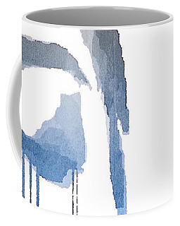 Coffee Mug featuring the digital art Crying In Pain by ISAW Company
