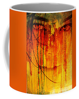 Crying Look Coffee Mug by Andrea Barbieri