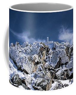 Crystal Cross Coffee Mug