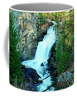 Crystal Falls , Washington Coffee Mug