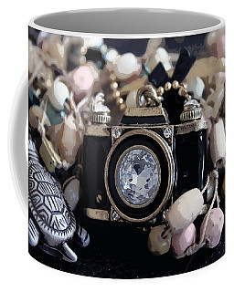 Crystal Lens Coffee Mug