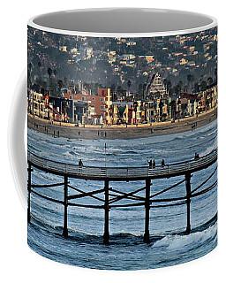 Crystal Pier - Mission Beach - Big Dipper Coffee Mug