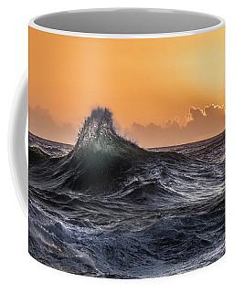 Crystal Wave Sunset Napali Coast Kauai Hawaii Coffee Mug