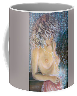 Blaa Kattproduksjoner                        Crystal Wonder Girl  Coffee Mug