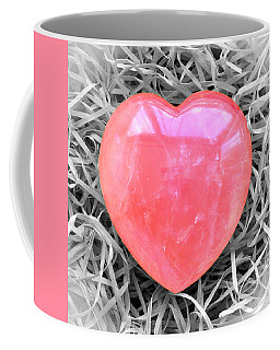 Crystallized Heart Coffee Mug