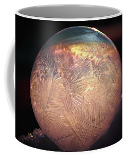 Crystallizing Bubble2 Coffee Mug by Loni Collins