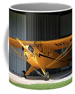 Cub Hangar 0 2017 Christopher Buff, Www.aviationbuff.com Coffee Mug