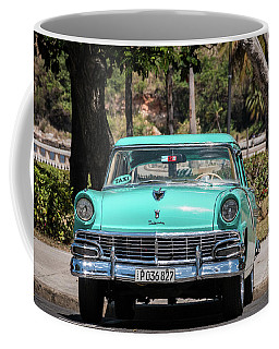 Cuban Car Coffee Mug by David Warrington