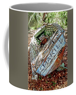 Cuban Refugee Boat 3 The Mariel Coffee Mug