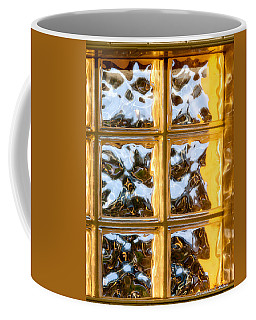 Coffee Mug featuring the photograph Cubed Sunset by Christopher Holmes