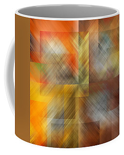 Coffee Mug featuring the photograph Cubic Space by Mark Greenberg