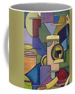 Cubist Pill Bottle Coffee Mug