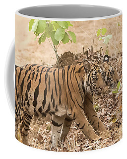 Cubs On The March Coffee Mug by Pravine Chester
