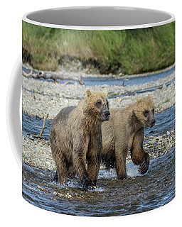 Cubs On The Prowl Coffee Mug