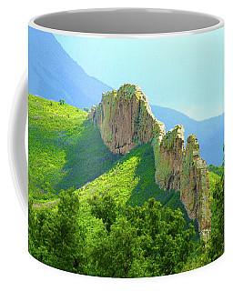 Coffee Mug featuring the photograph Cuchara Ridge by Marie Leslie