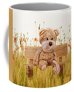 Cuddly In The Garden Coffee Mug