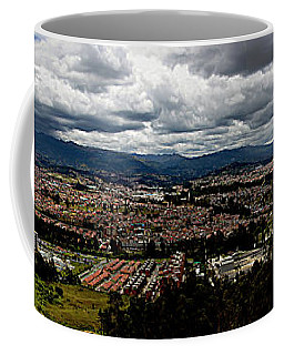 Cuenca, Ecuador - Panorama Coffee Mug by Al Bourassa