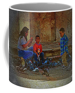 Cuenca Kids 875 Coffee Mug by Al Bourassa