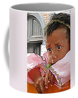 Cuenca Kids 881 Coffee Mug by Al Bourassa