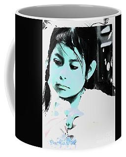 Coffee Mug featuring the photograph Cuenca Kids 886 by Al Bourassa