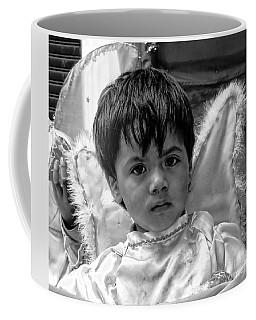 Coffee Mug featuring the photograph Cuenca Kids 893 by Al Bourassa