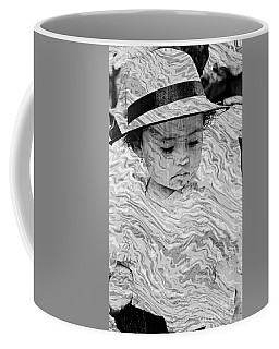 Coffee Mug featuring the photograph Cuenca Kids 894 by Al Bourassa