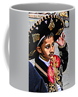 Coffee Mug featuring the photograph Cuenca Kids 897 by Al Bourassa