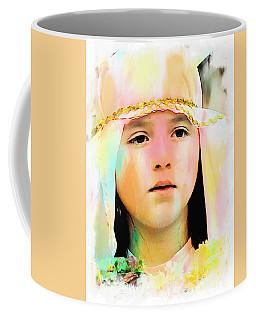 Coffee Mug featuring the photograph Cuenca Kids 899 by Al Bourassa