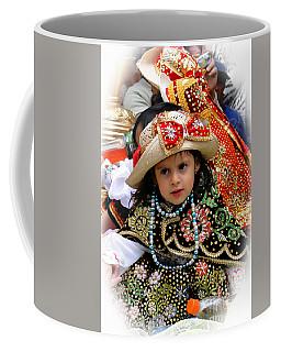 Coffee Mug featuring the photograph Cuenca Kids 900 by Al Bourassa