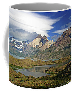 Cuernos Del Pain And Almirante Nieto In Patagonia Coffee Mug