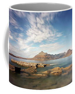 Coffee Mug featuring the photograph Cuillin Mountain Range by Grant Glendinning
