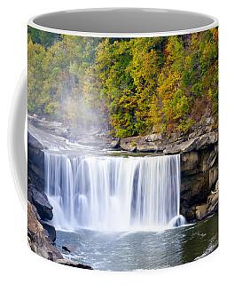 Cumberland Falls Coffee Mug by Alexey Stiop