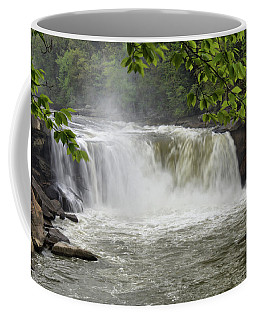 Cumberland Falls Close-up Coffee Mug