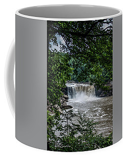 Coffee Mug featuring the photograph Cumberland Falls by Joann Copeland-Paul
