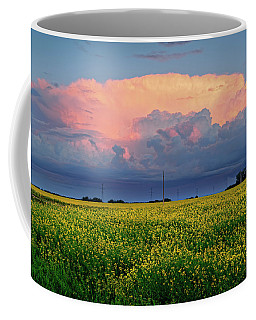 Cumulus And Canola Coffee Mug