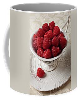 Cup Full Of Raspberries  Coffee Mug by Garry Gay