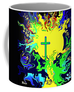 Cup Of Salvation Coffee Mug by Yvonne Blasy