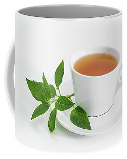Cup Of Tea With Fresh Mint Coffee Mug