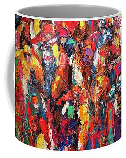 Cup Runneth Ovet Coffee Mug