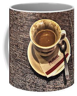 Coffee Mug featuring the pyrography cup by Yury Bashkin