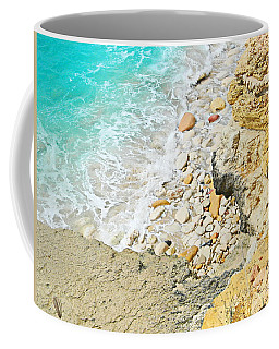 The Sea Below Coffee Mug by Expressionistart studio Priscilla Batzell