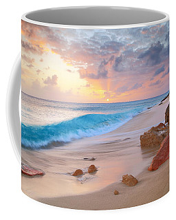 Cupecoy Beach Sunset Saint Maarten Coffee Mug