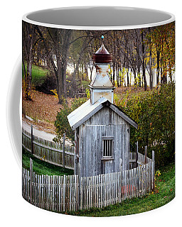 Cupola Shed By The River Coffee Mug