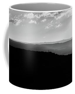 Curbar Edge Alone On The Peak Coffee Mug