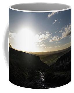Curbar Edge Sunset Coffee Mug